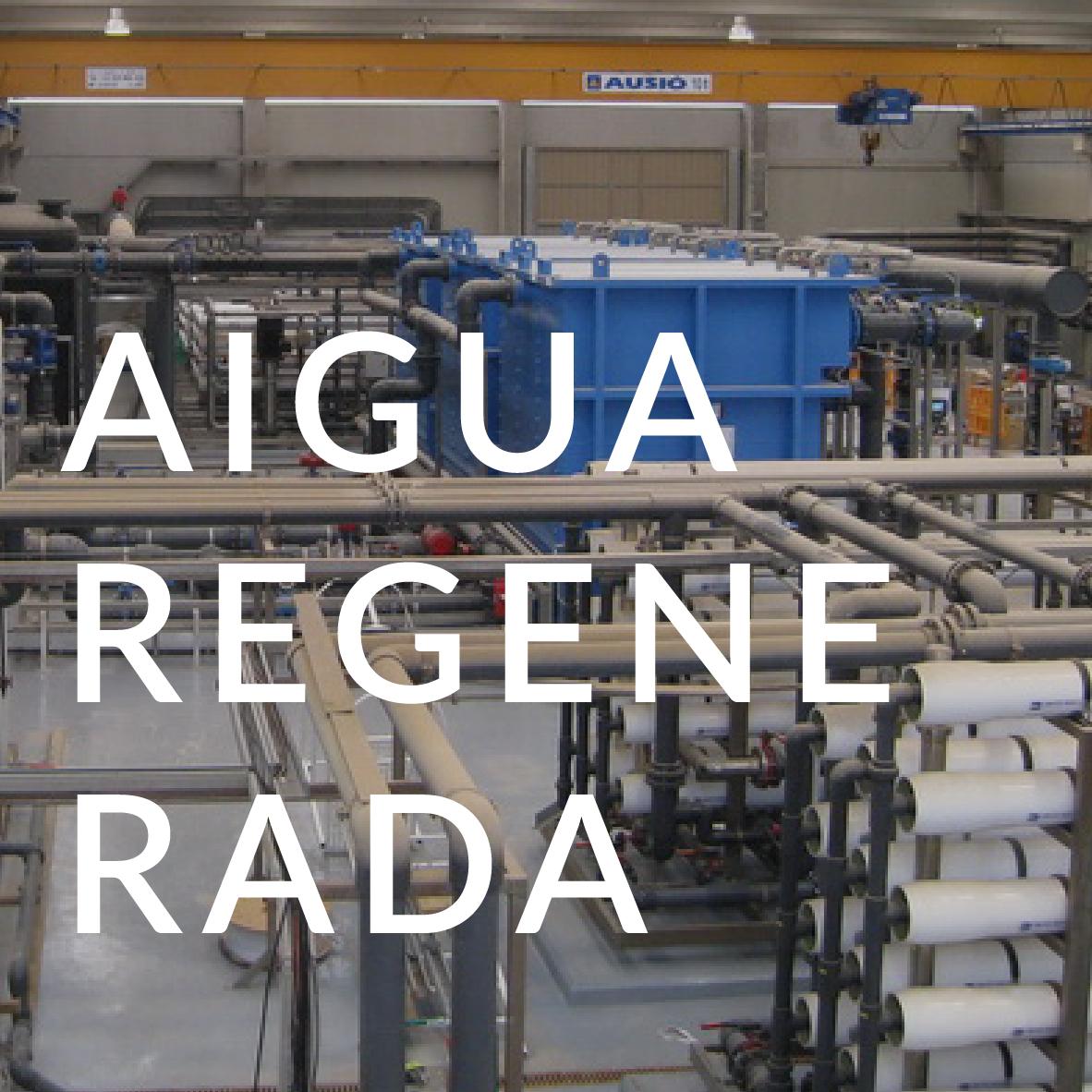 Serveis Aigua regenerada AREMA