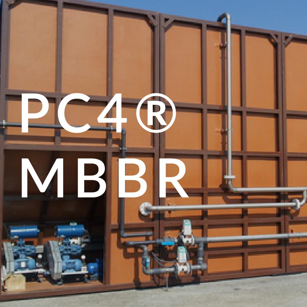 tecnologia PC4 MBBR Arema