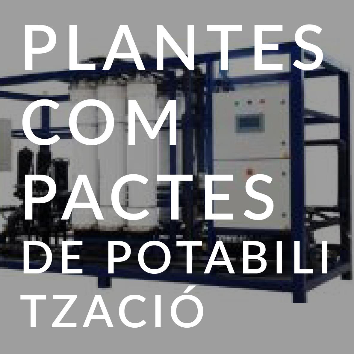 tecnologia Plantes compactes de potabilització AREMA