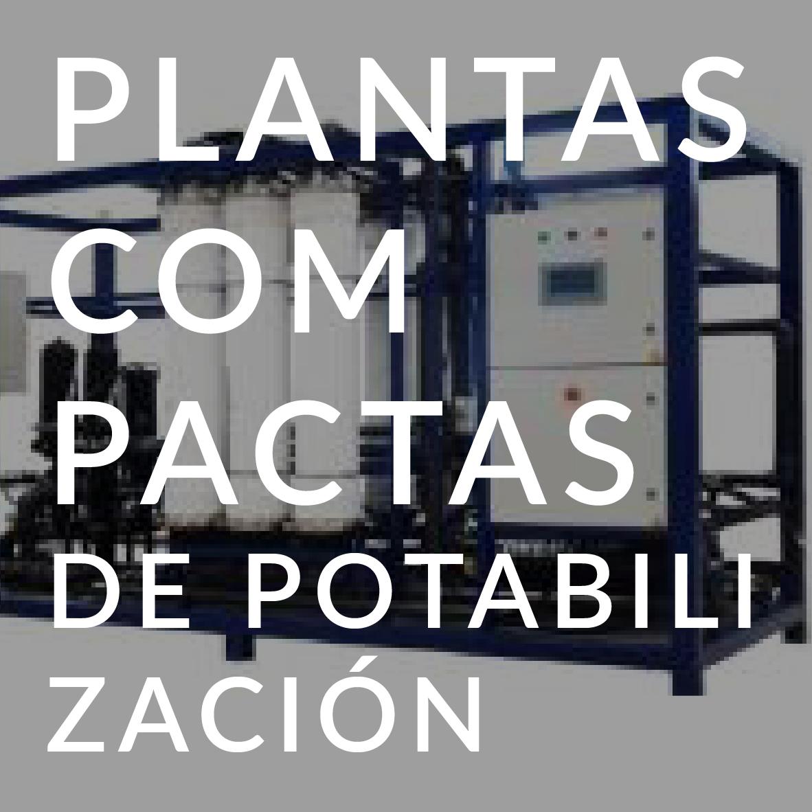 PLANTAS COMPACTAS POTABILIZACIÓN de Arema
